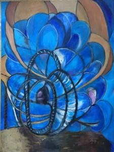 Blomster kaleidoskopet 60x80