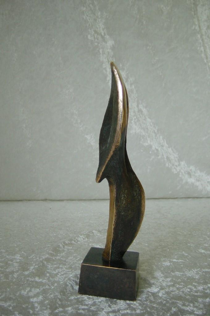Danseren, bronze  25x09x06