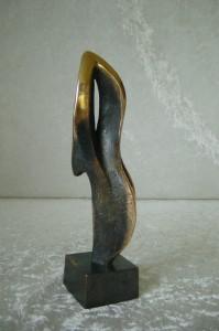 """""""Danseren""""  bronze  25x9x6"""
