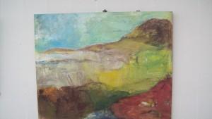 Færøsk Landskab 65x80