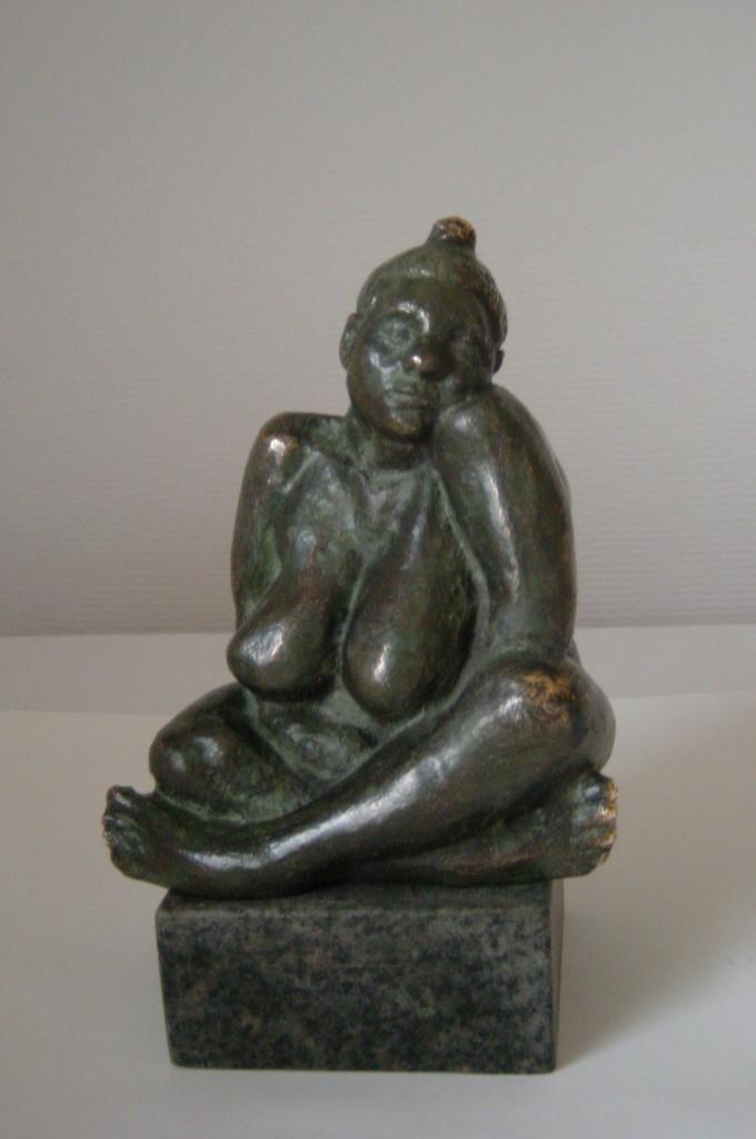 Maja unika bronze  22x14x11