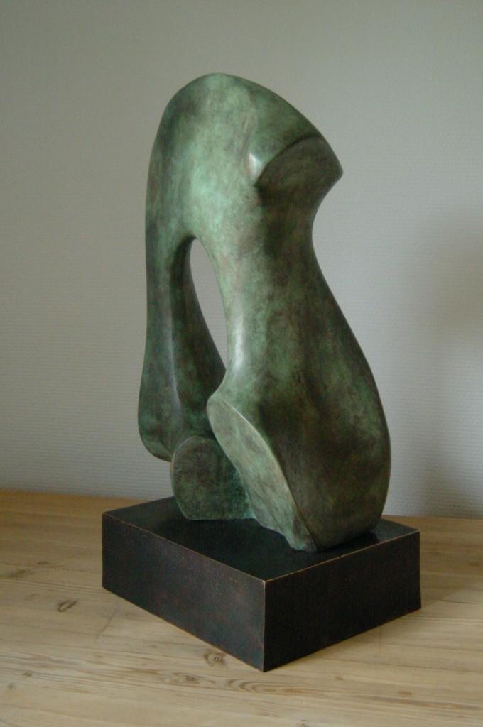Porten I, bronze 48x30x25