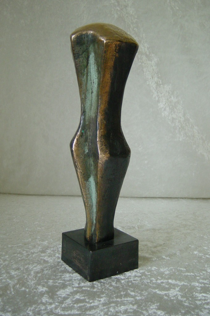 Torso  bronze  38x10x11 cm